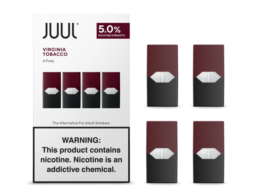 Virginia Tobaccos Juul Pods