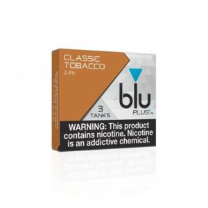 BLU Classic Tobacco PLUS+ Flavor Tanks