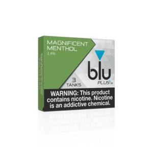 BLU Magnificent Menthol PLUS+ Flavor Tanks