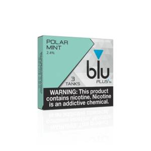 BLU Polar Mint PLUS+ Flavor Tanks | 24mg