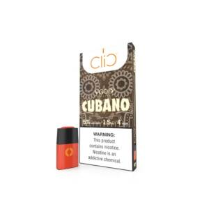 CLIC VAPOR VGOD Cubano Pods | 50mg Pack of 4