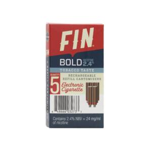 FIN E CIG Bold Tobacco Cartomizer 5-Pack