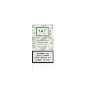 KWIT Mountain Mint Pods | 50mg Pack of 4