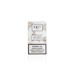 KWIT Sweet Tobacco Pods | 50mg Pack of 4