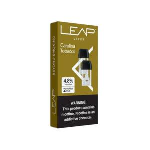 LEAP ® VAPOR Carolina Tobacco Pods Pack of 2
