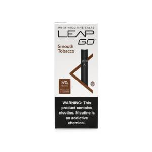 LEAP ® VAPOR Go Smooth Tobacco Disposable | 50mg