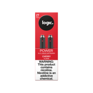 LOGIC Power Cherry Cartridges Pack of 2