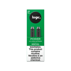 LOGIC Power Menthol Cartridges Pack of 2