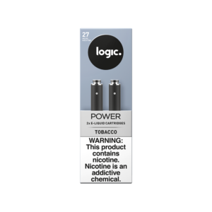LOGIC Power Tobacco Cartridges Pack of 2