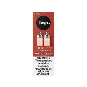 LOGIC Pro Capsules Toasted Tobacco Pack of 2 | 18mg