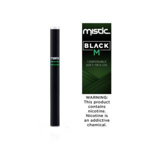 MISTIC Black Menthol Disposable | 24mg Pack of 1