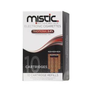 MISTIC Traditional Flavor Cartridge Refill Pack (10-pack)
