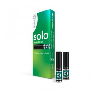 VUSE Solo Menthol Cartridges Pack of 2 | Compatible with VUSE Solo