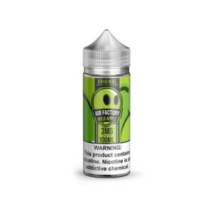 AIR FACTORY Wild Apple 100ml Vape Juice