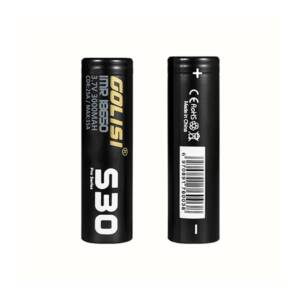 Golisi S30 High Drain IMR 18650 Battery 3000mAH 25A 2-pack Pack of 2